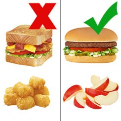 healthy food vs fast food essays Because of the lower quality food sources, most fast food options are not made with the most protein-rich, nutritious ingredients when you can spend a quarter more on a large combo meal than you do on a medium - and receive double the amount of food - it seems like a no-brainer.